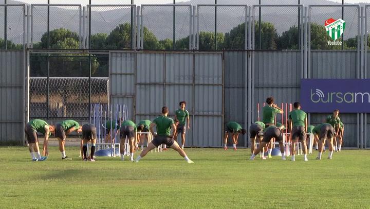 Bursaspor, Altınordu Maçı Hazırlıklarına Devam Ediyor