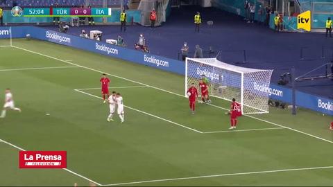 Mala fortuna de Turquía: Así fue el primer gol de la Eurocopa 2021