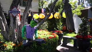 Lisa Miller talks about her kid-friendly Halloween decorations