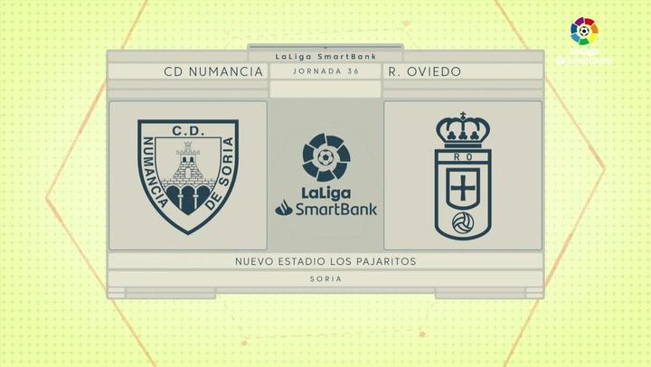 LaLiga Smartbank (Jornada 36): Numancia 1-0 Oviedo