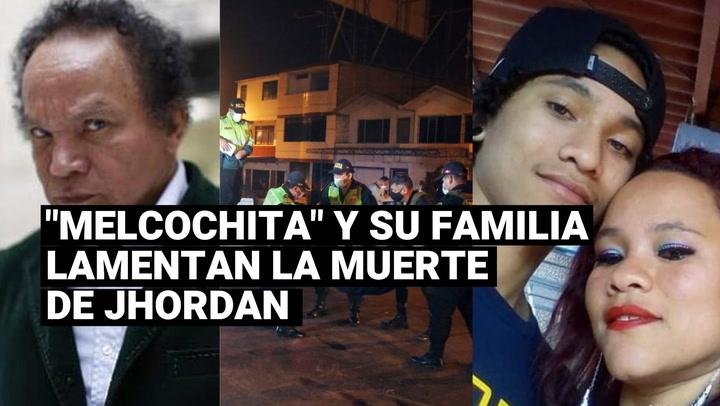 """El cómico """"Melcochita"""" y madre lamentan la muerte de Jhordan tras accidente en moto"""