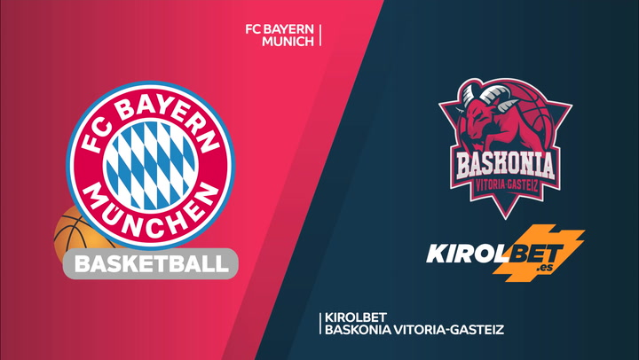 Resumen del Bayern - KIROLBET Baskonia (71-80) de Euroliga