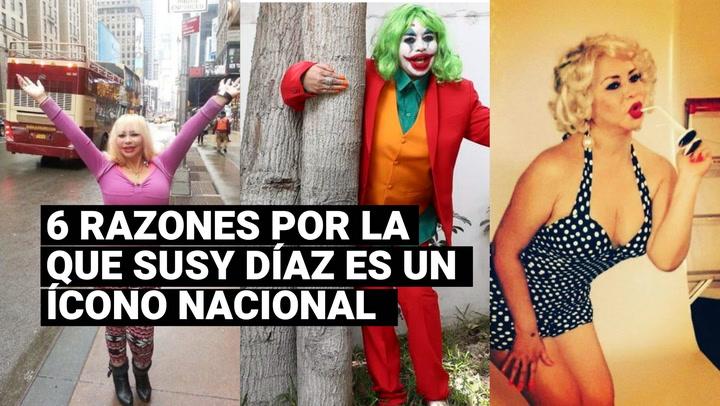 6 razones por la que Susy Díaz es considerada un ícono nacional