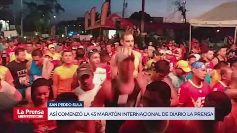 Así comenzó la 43 Maratón Internacional de Diario LA PRENSA