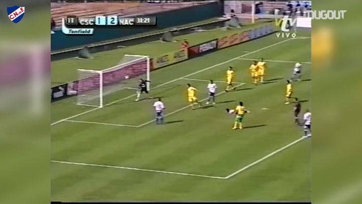 Lodeiro's great header goal vs Cerrito
