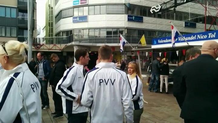 Wilders protesteert tegen uitbreiding AZC Almere
