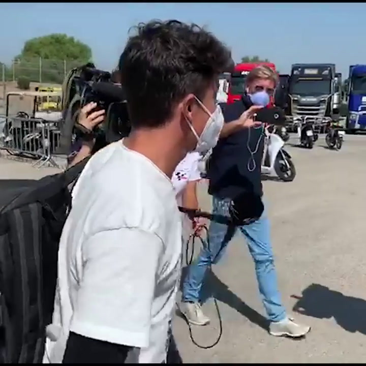 Marc Márquez is back in Jerez after his operation