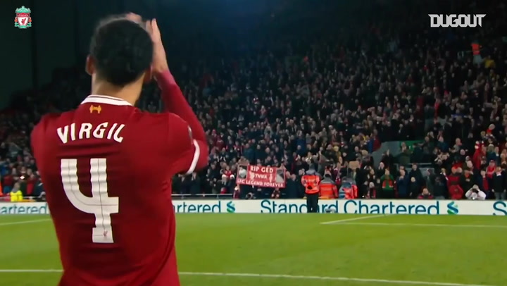 Virgil Van Dijk's Dream derby debut vs Everton