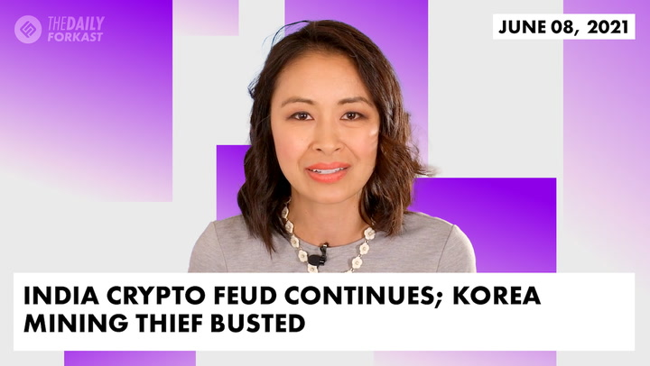 India Crypto Feud Continues; Korea Mining Thief Busted
