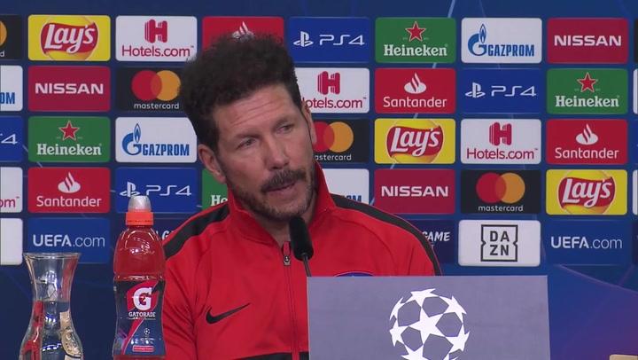 """Simeone saca la cara por Lemar: """"Sigo teniendo la misma confianza en él"""""""