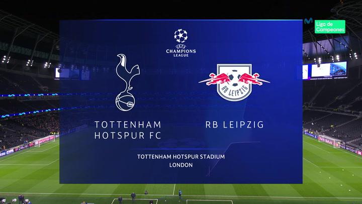Champions League: Tottenham-Leipzig (0-1)