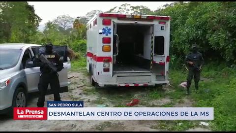 Desmantelan centro de operaciones de droga de la MS vinculado al Porkys
