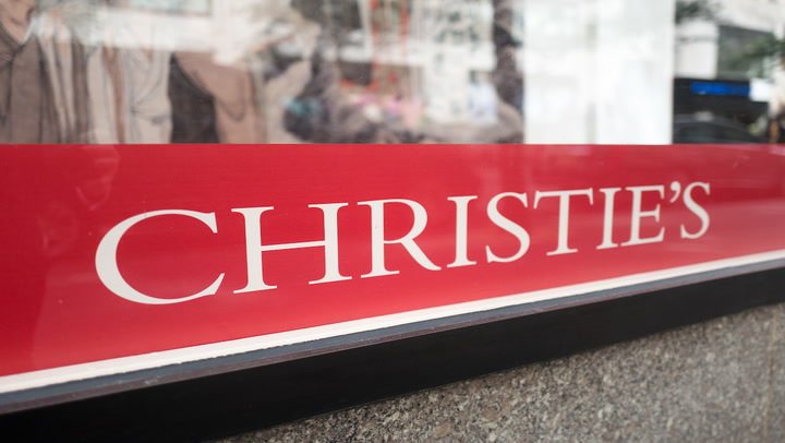 Luxury and Crypto? Top Auction House Christie's to Accept Ether for Digital Art Sale