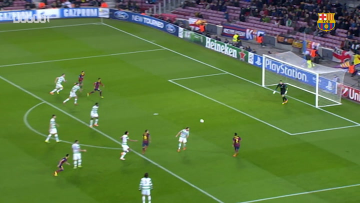 Hat-Trick Heroes: Neymar Vs Celtic