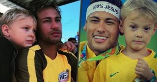 La emotiva narración del hijo de Neymar tras gol de su padre