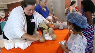 Centennial Hills Hospital holds 11th annual Teddy Bear Clinic