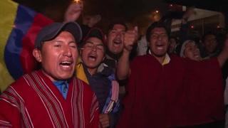 Celebraciones en Ecuador por acuerdo que revoca desmonte de subsidios