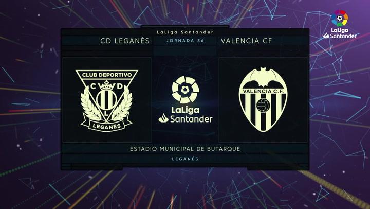 LaLiga Santander (J.36): Leganés 1-0 Valencia