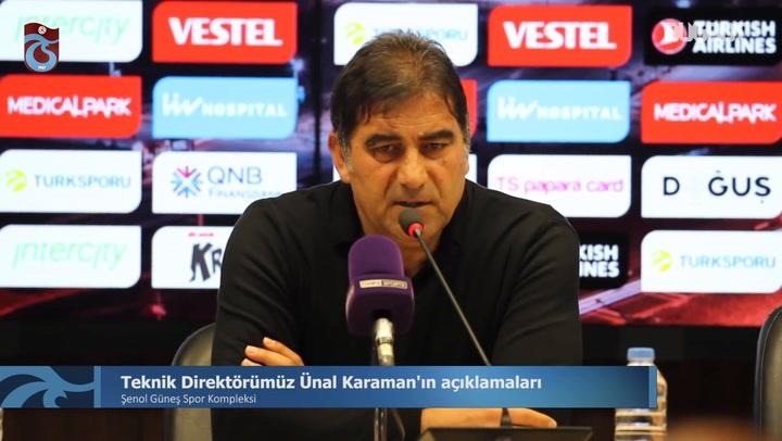 Ünal Karaman'ın Kayserispor Galibiyeti Sonrası Açıklamaları