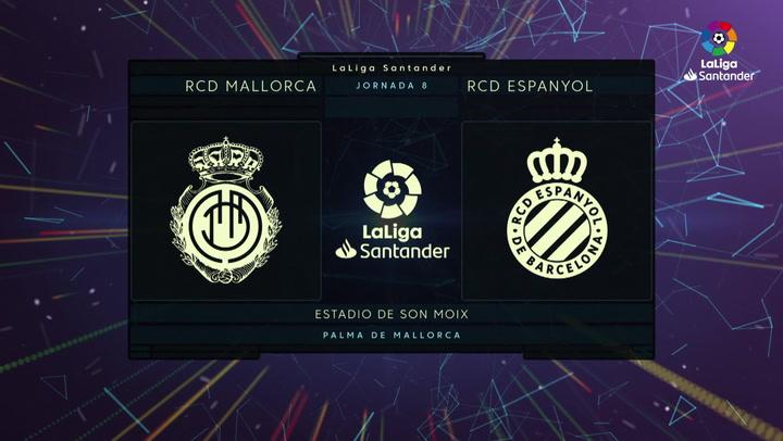 LaLiga Santander (J8): Resumen y goles del Mallorca 2-0 Espanyol