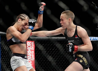 Covering The Cage: Rose Namajunas Retains Title
