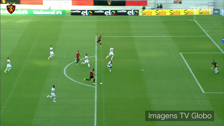 Joelinton's goals against São Paulo and Santos