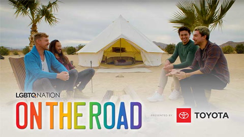 LGBTQ Nation's ON THE ROAD: Joshua Tree with Luke & Ryan