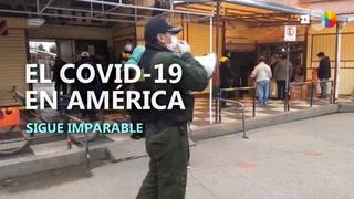 América supera los 115.00 casos de coronavirus, el 90 % en Estados Unidos