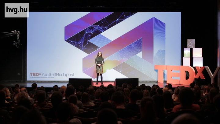 Mécs Anna előadása a Tedx Youth Budapesten