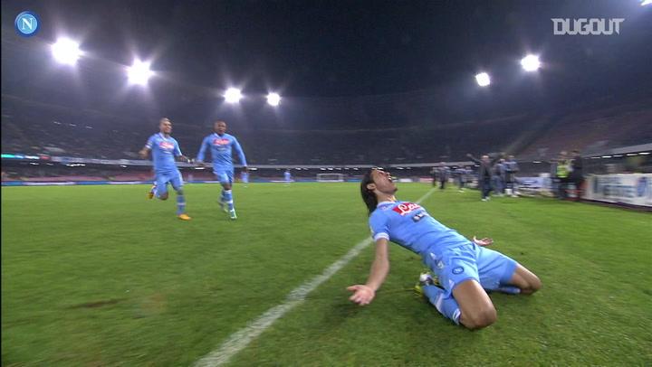 Cavani nets hat-trick in 4-1 Roma win