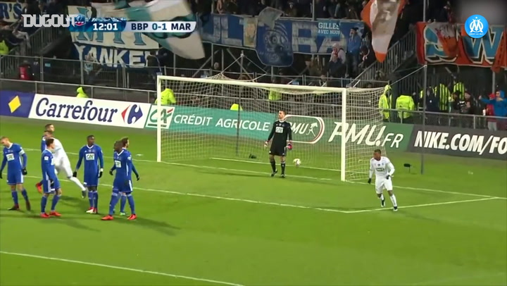 Dimitri Payet's top three free-kicks with OM so far