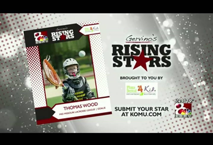 Gervino's Rising Star - Thomas Wood