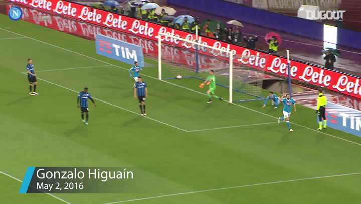 Napoli's top three goals at home to Atalanta