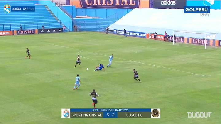 Club Sporting Cristal clinch five-goal thriller against Cusco FC