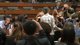 Greta Thunberg pide al Congreso de EEUU que tome