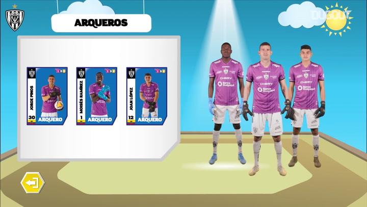 Independiente del Valle unveil 2021 squad