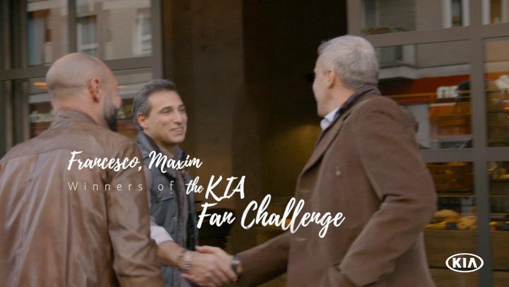 Fan Challenge ft. Hernan Crespo | Kia