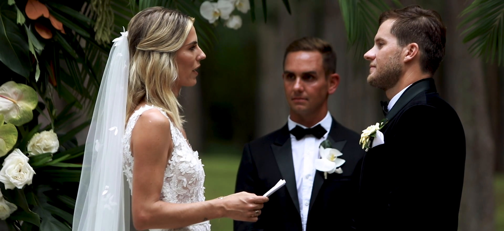 Adrian + Katie | Kilauea, Hawaii | Na Aina Kai Botanical Gardens