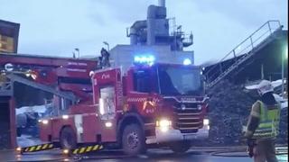 200 evakuert i Gjøvik