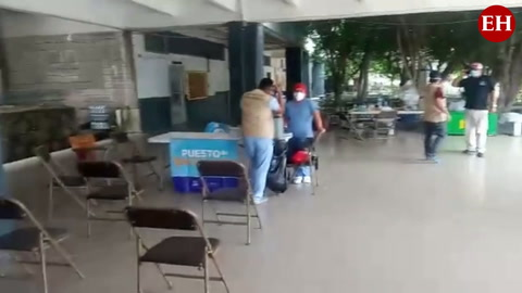 Poca afluencia de personas en centros de vacunación de la capital