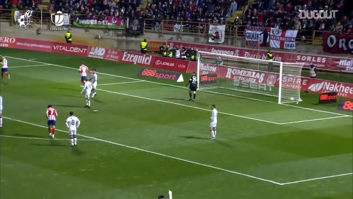 Ángel Correa's goal in the 2019-20 Copa del Rey