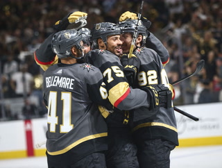 Golden Knights discuss Game 1 win