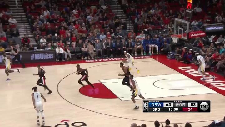 Damian Lillard jugador destacado de la jornada de la NBA (20012019)