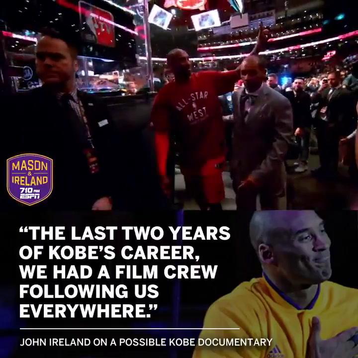 Kobe Bryant podría tener un documental como el de Jordan en los próximos años