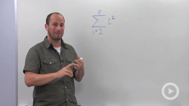 Series and Summation Notation - Problem 1