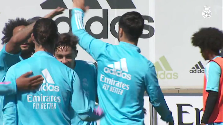 El Real Madrid ultima el trascendental partido de Liverpool