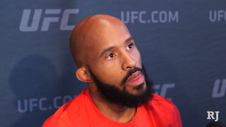 Demetrious Johnson talks about chasing the title defense record, facing Ray Borg