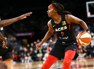 Las Vegas Aces Scrape Away With a Win Over Defending WNBA Champion Storm – Video Highlights