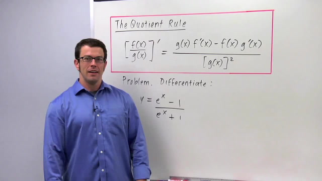 The Quotient Rule - Problem 2