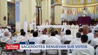 Sacerdotes renuevan sus votos